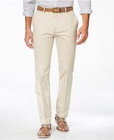 Alfani Big and Tall Flat-Front Sateen Pants