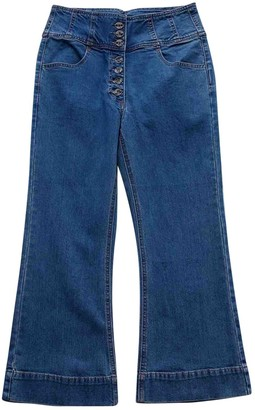 Ulla Johnson Blue Cotton Jeans for Women