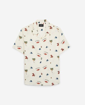 The Kooples Printed short-sleeved shirt