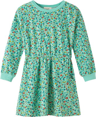 Peek Aren't You Curious Floral Long Sleeve French Terry Dress