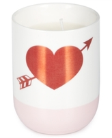 Twos Company Two's Company Celebrate Shop Heart and Arrow Candle
