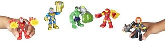 Playskool Heroes Toy Action Figures The Power Up Squad Marvel Super Hero Adventures