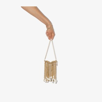 Rosantica Gold tone Oasis Arcadia pearl drop phone holder