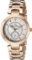 Lucien Piccard Women's LP-10268-RG-22 Casablanca Analog Display Quartz Rose Gold Watch