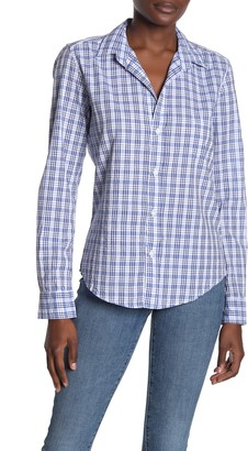 Frank And Eileen Plaid Button Front Woven Shirt