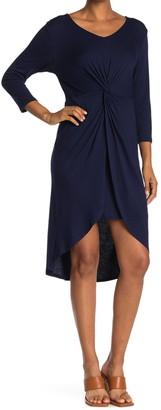 WEST KEI Knit Twisty Dress