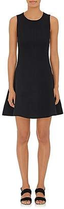 Lisa Perry Women's Wow Colorblocked Fit & Flare Dress - Black