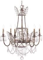 John-Richard Collection John Richard Versailles Six Light Chandelier