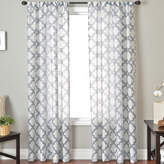 JCPenney SOFTLINE HOME FASHIONS Princeton Rod-Pocket Sheer Panel