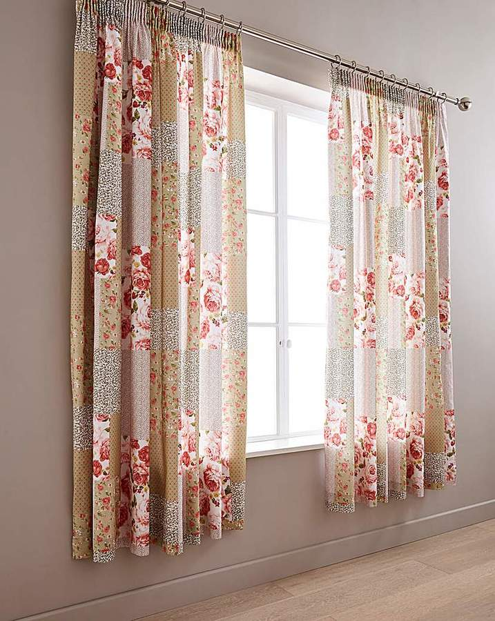 2ab01490602e Green Pencil Pleat Curtains - ShopStyle UK