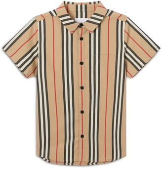 Burberry Kids Icon Stripe Shirt (3-12 years)