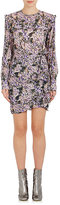 Etoile Isabel Marant Women's Jirvina Ruffle Floral Crepe Dress