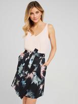 Portmans Paperbag Sateen Skirt