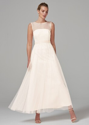 Phase Eight Genova Beaded Wedding Dress
