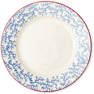Blue Pheasant Sienna Coral Dinner Plates, Set of 4