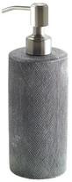 Kassatex Mesh Lotion Dispenser Silver