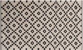 Jaipur Rugs Blakely Flat-Weave Rug, Ivory/Black