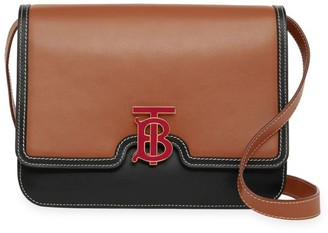 Burberry Medium TB Leather Crossbody Bag