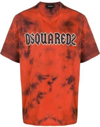 DSQUARED2 tie dye print T-shirt