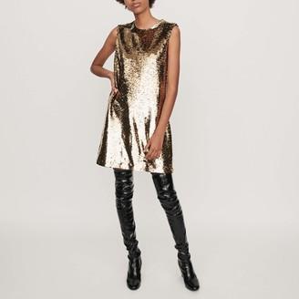 Maje Sequin shift dress