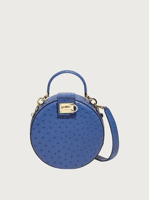 Salvatore Ferragamo Women round Studio bag Blue