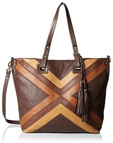 Isabella Fiore Women's Gipsy Tote, Brown