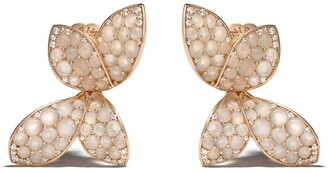Pasquale Bruni 18kt rose gold Giardini Segreti diamond stud earrings