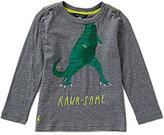 Joules Little Boys 3-6 Jack Jersey Dinosaur Applique Top