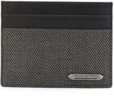 Ermenegildo Zegna Herringbone card holder