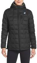 K-Way 'Coralie Thermo Stretch' Reversible Waterproof Down Jacket