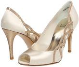Stuart Weitzman & Evening Collection - Arcade (White Satin) - Footwear