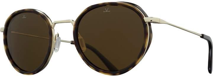 Vuarnet VL1809 Small Round Polarized Sunglasses
