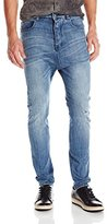 Zanerobe Men's Low Blow Comfort Stretch Jeans, Blow Out/ Blue