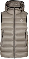Moncler Ray Grey Quilted Shell Gilet