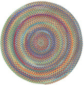 Capel Darwin Bright Multi Colored Straight Edge Chair Mat Rug