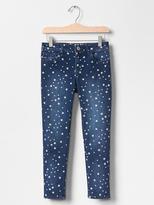 Gap 1969 Starry Super Skinny Skimmer Jeans