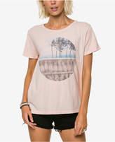 O'Neill Juniors' Split Reality Cotton Graphic-Print T-Shirt