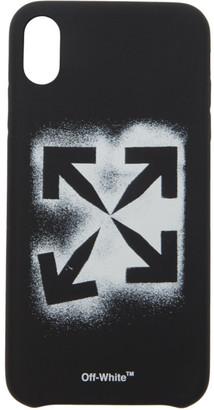 Off-White Black Stencil iPhone XS Max Case