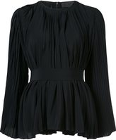 Co pleated blouse