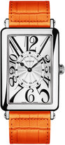 Franck Muller Ladies Long Island Watch with Alligator Strap