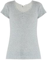 SKIN Short-sleeved cotton pyjama top
