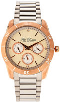 Ted Baker 10009374 Rose Gold-Tone & Silver-Tone Watch