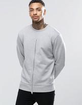 Diesel S-Ezra Zip Front Sweatshirt