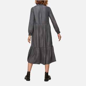 Whistles Women's Denim Trapeze Dress