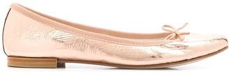Repetto Chio metallic ballerina shoes