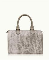 GiGi New York Brooke Barrel Bag Natural American Haircalf - 009