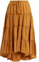 See by Chloe Tiered cotton skirt