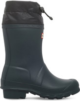 Hunter Kids Quilted Cuff wellies 3-8 years