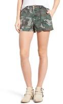 Pam & Gela Women's Camo Twill Shorts