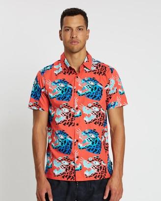 Hurley Spot Tiger Short Sleeve Shirt